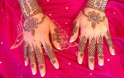 Learn to Henna for festivals and events.